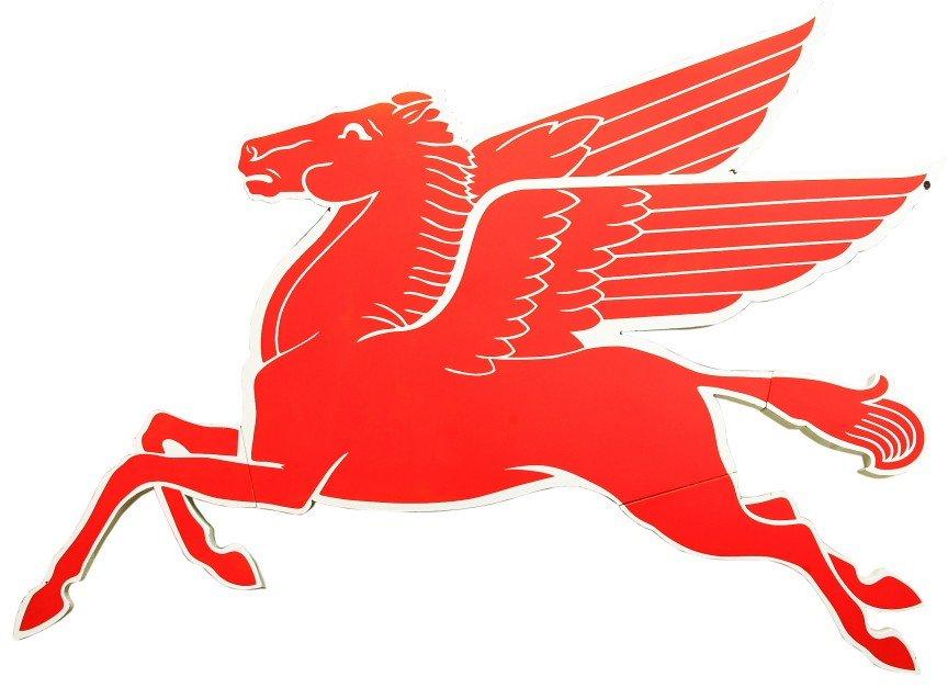 """476: Fine vintage 8 ' porcelain """"PEGASUS"""" flying horse,"""