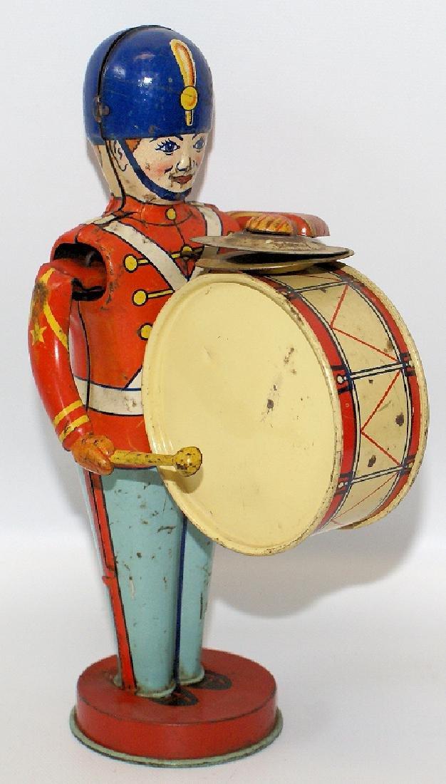 CHEIN Windup #110 Mechanical Bass Drummer Toy