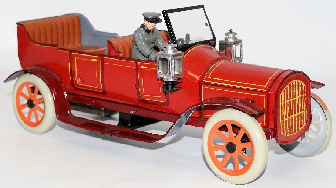 1915 BING (Germany) Large Windup Oldtimer Double Seat