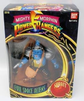 1993 BANDAI POWER RANGERS Evil Space Aliens 'SQUATT',