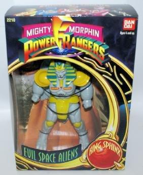 1993 BANDAI POWER RANGERS Evil Space Aliens 'KING