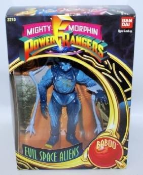 1993 BANDAI POWER RANGERS Evil Space Aliens 'BABOO'