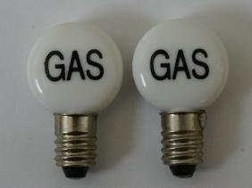2 Bulb Globes for Vintagge Marx Service Gas Filling