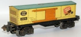 Prewar LIONEL Train O Gauge 2679 BABY RUTH Candy Tin