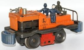 Postwar LIONEL Train O Gauge 50 GANG CAR Motorized Unit