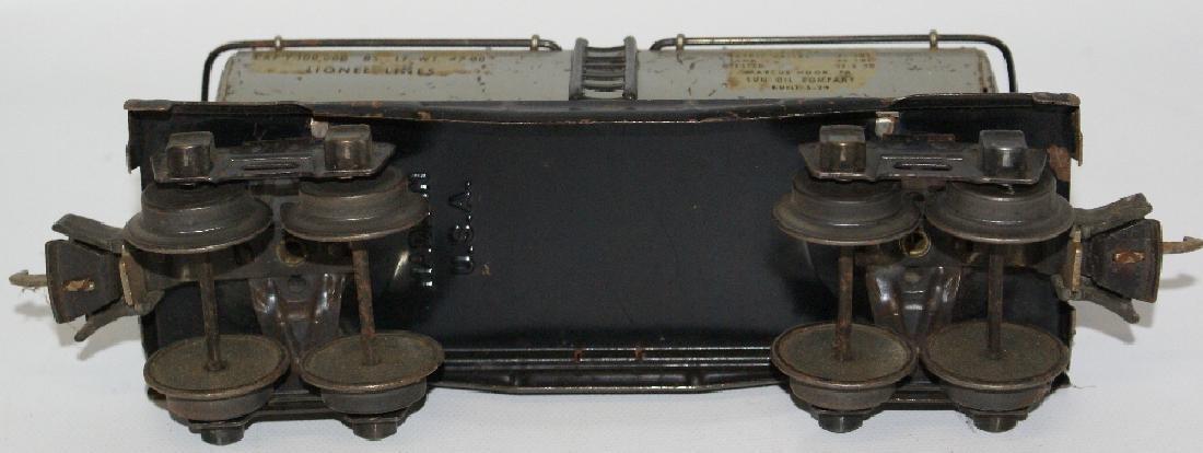 Prewar LIONEL O Gauge Tin SUNX 65 SUNOCO Oil Gas Tank - 4