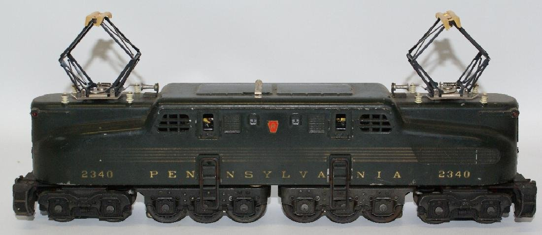 Postwar LIONEL 2340 PENNSYLVANIA GG-1 Green 5-Stripe