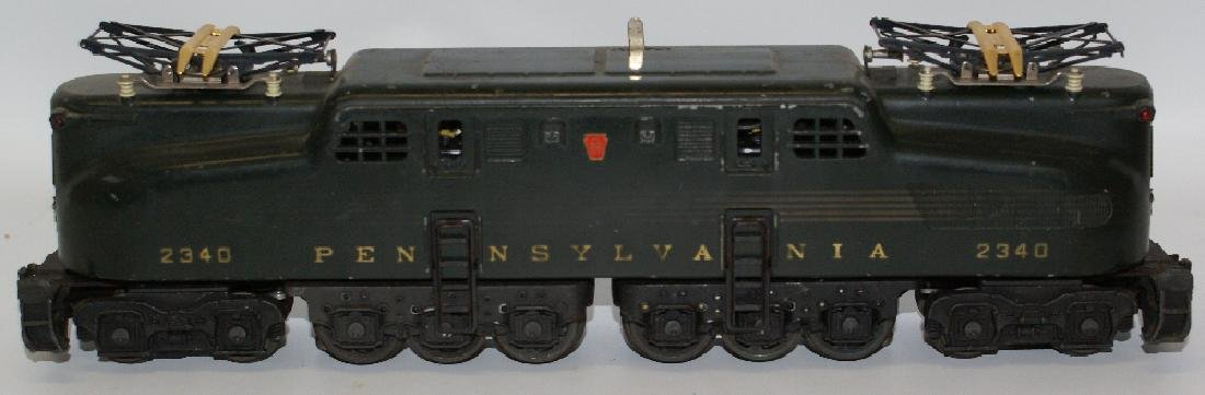 Postwar LIONEL 2340 PENNSYLVANIA GG-1 Green 5-Stripe - 2