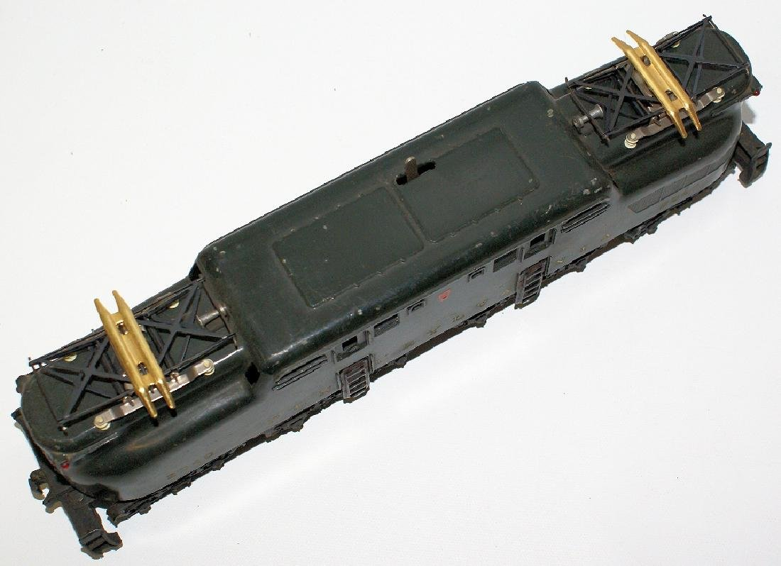Postwar LIONEL 2340 PENNSYLVANIA GG-1 Green 5-Stripe - 3
