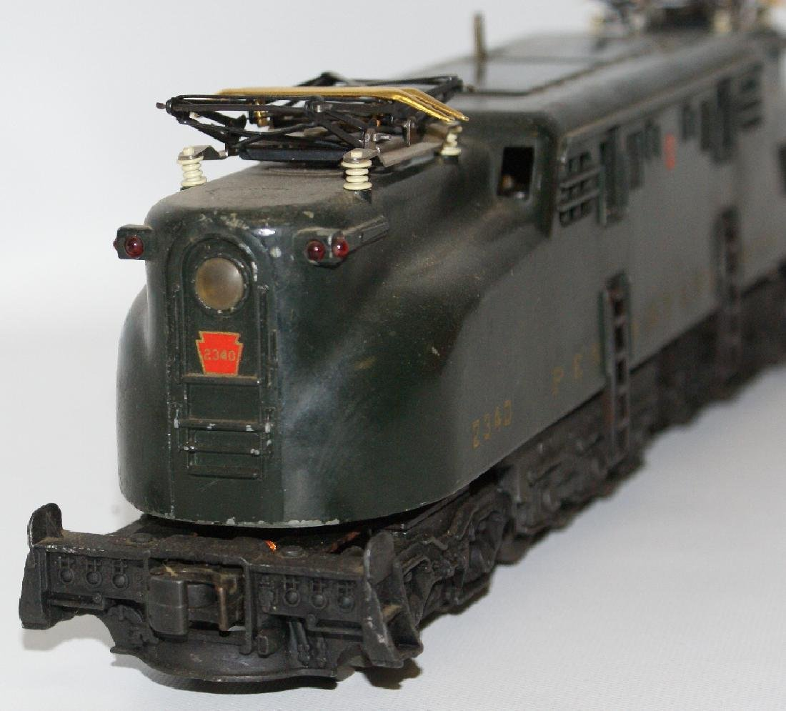 Postwar LIONEL 2340 PENNSYLVANIA GG-1 Green 5-Stripe - 4