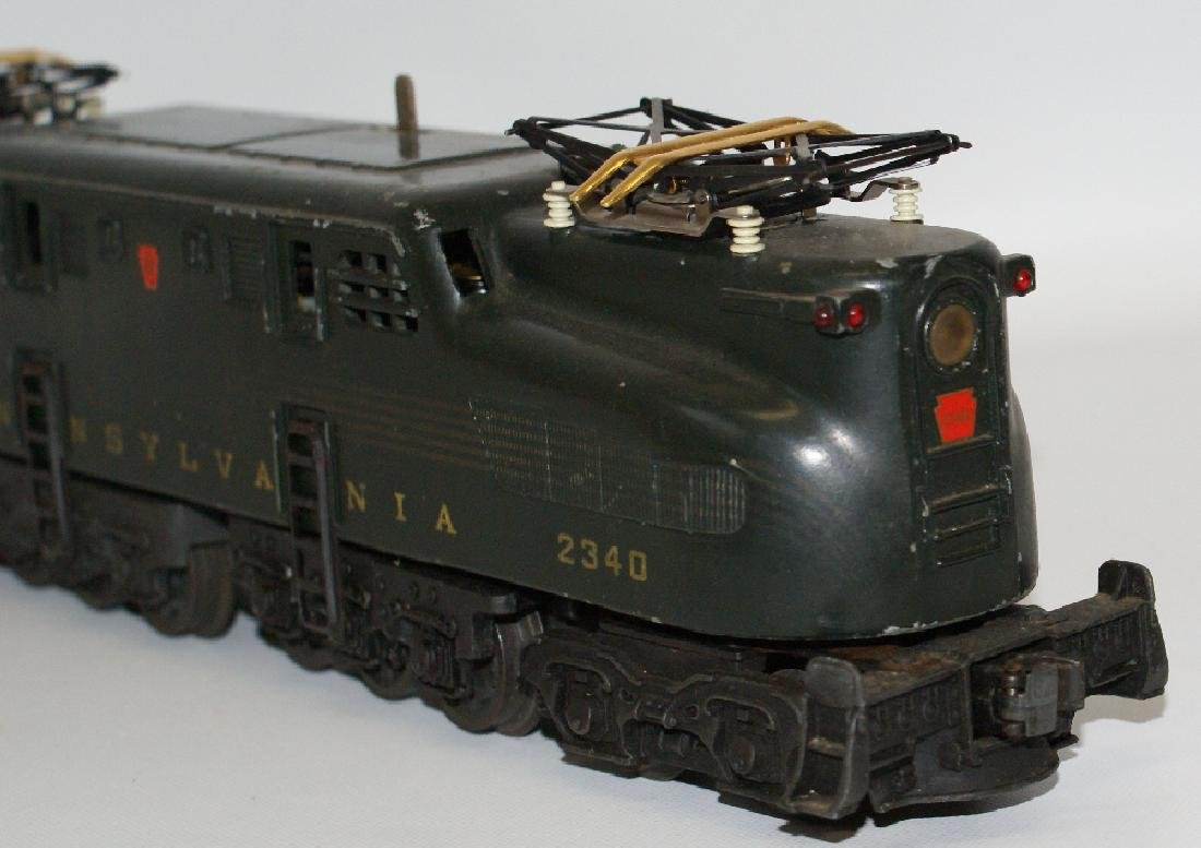 Postwar LIONEL 2340 PENNSYLVANIA GG-1 Green 5-Stripe - 5