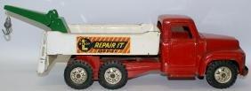 BUDDY L Pressed Steel 'Repair-It Service' Toy Wrecker