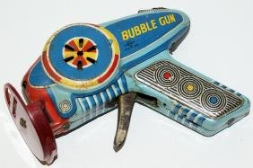 50's DAIYA (Japan) / Excelo Tin Friction BUBBLE GUN
