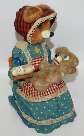 50's Yonezawa (Japan) B.O. HUNGRY BABY BEAR Toy