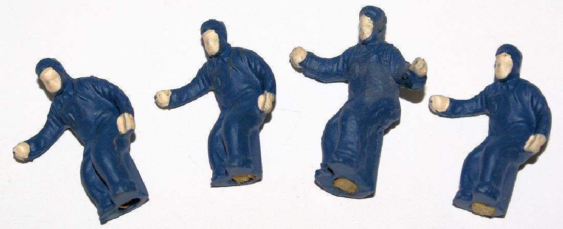 4 LIONEL O Gauge #50-83 Replacement Blue Man Figures