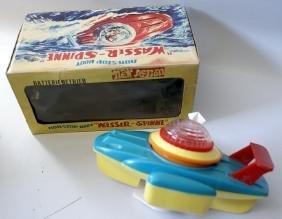 VERY UNUSUAL WASSER-SPINNE #14 B.O. Boat, Yonezawa (Y)