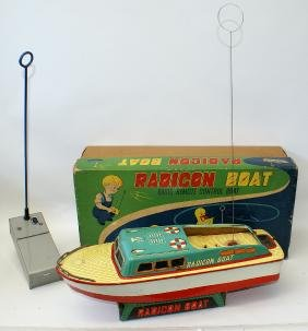 1956 Radio Remote Controlled RADICON BOAT made by