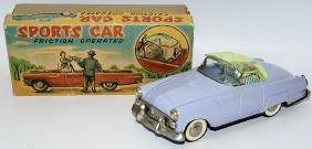 50s Tin Friction Ford Thunderbird Sports Car, removable