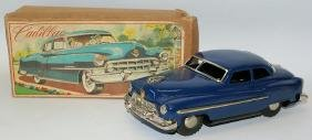 50's Tin Friction Cadillac in the original box, Japan