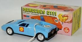 Plastic B.O. Remote Controlled MERCEDES C111 Race Car