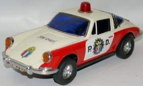 B.O. PORSCHE Police Department Highway Patrol Squad Toy