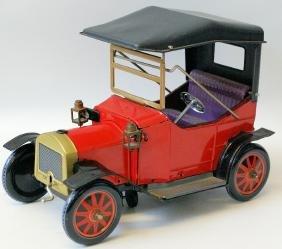 Tin B.O. Touring Car w/ working headlights and