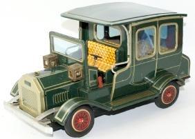 HORIKAWA (SH) Japan, Tin B.O. Old Fashioned Green Toy