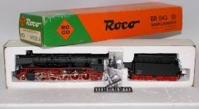 HO 1:87 ROCO 14126A DB BR 043 AC Steam Locomotive &