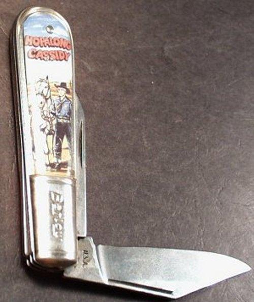 Hopalong Cassidy pocket knife, Barlow (EST2)