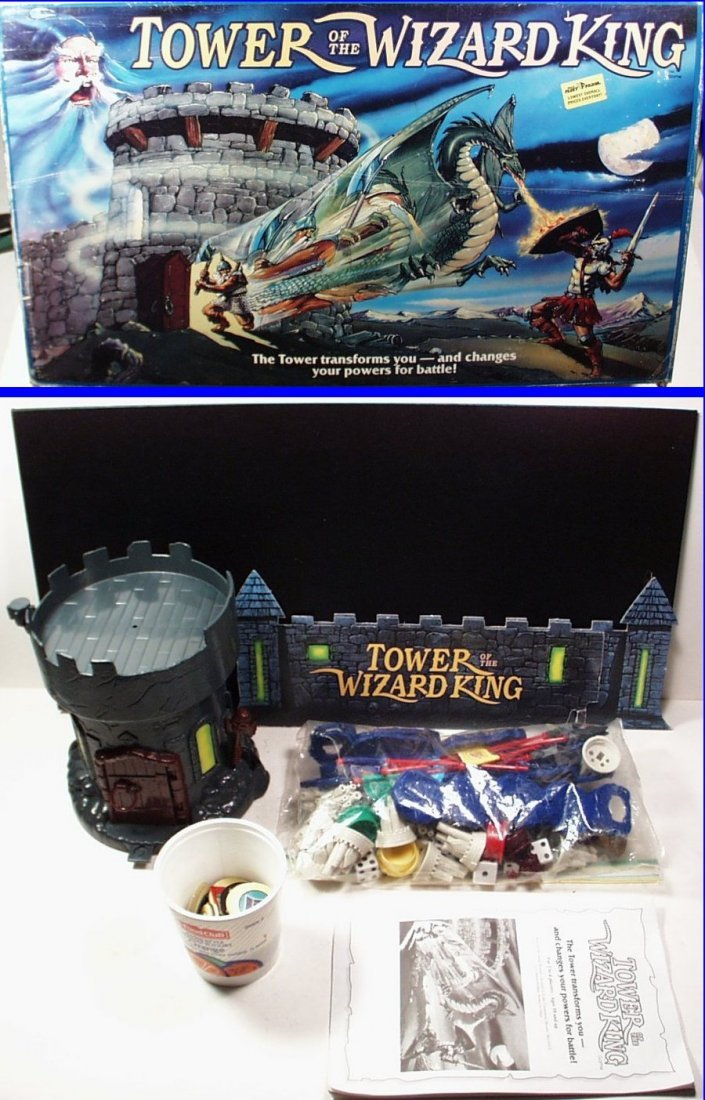 Tower of the Wizard King Board Game by Parker Brothers