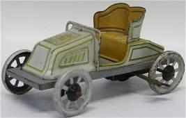 20's Bing Cute Windup Tin Plate Litho Roadster Car,