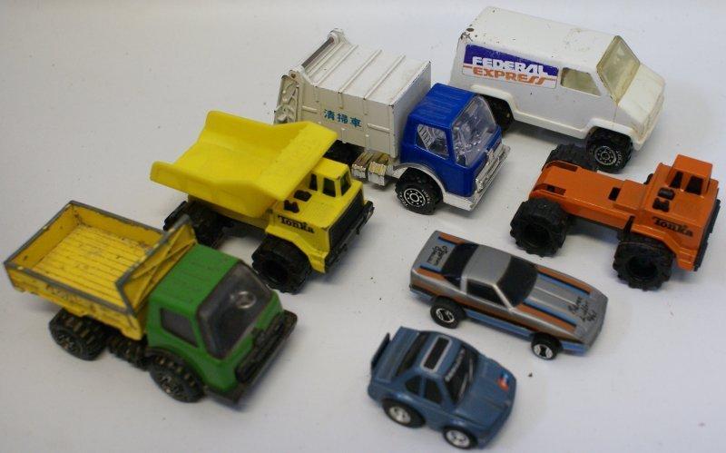 Lot of Vintage Cars and Trucks - Tonka Mini and