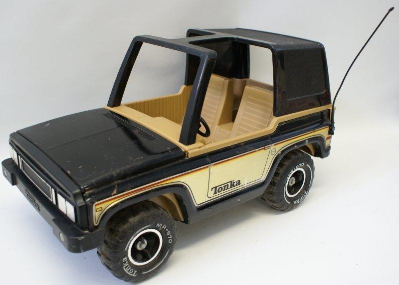 "1970s Mighty Tonka Jeep Bronco w/ MR-970 Tires, 17"","