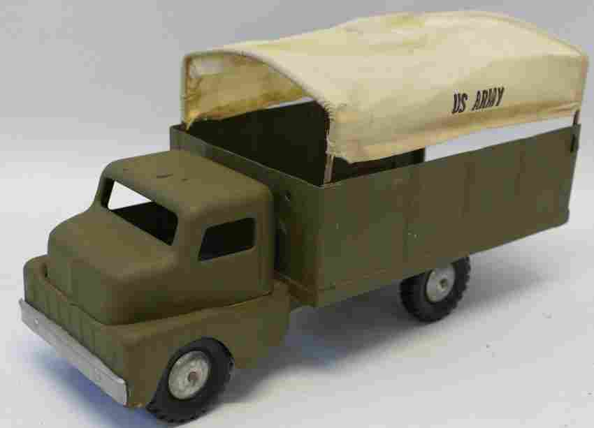 Pressed Steel US Army Canvas Top Transport Truck,