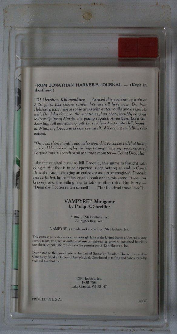 Vintage 1981 TSR Vampyre Minigame, Hunt for Dracula - 2