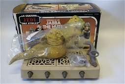 1983 Vintage Kenner Star Wars JABBA THE HUT Action