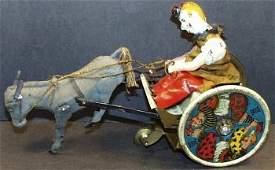 Lehmann EPL 425 Circus Clown on Stubborn Donkey Balky
