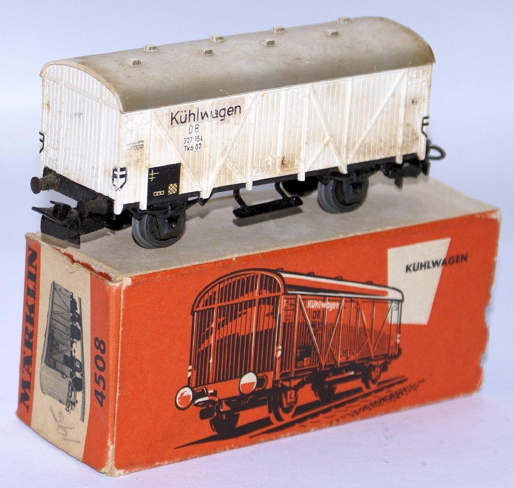 Vintage HO Scale 4508 MARKLIN Märklin Kuhlwagen Freight