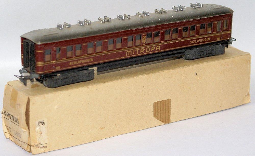 Vintage HO Scale #353 MARKLIN Märklin Mitropa