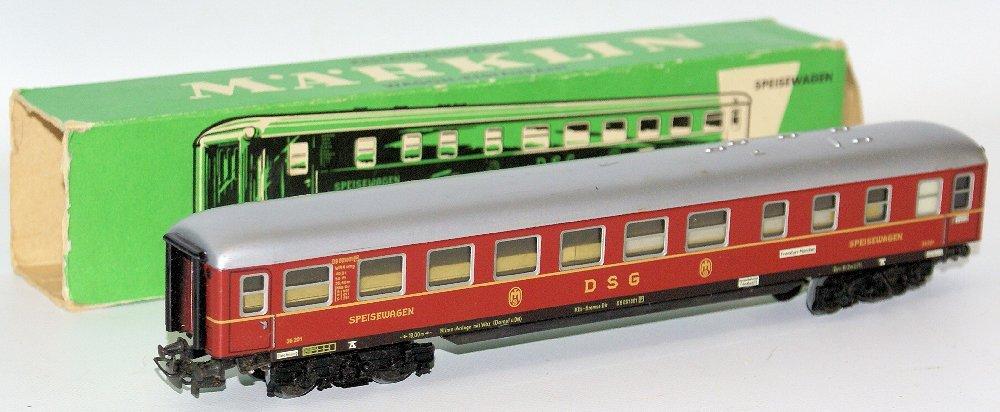 Vintage HO Scale #4024 MARKLIN Märklin DSG Speisewagen