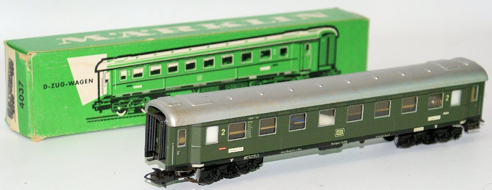Vintage HO Scale #4037 MARKLIN Märklin Express 2nd