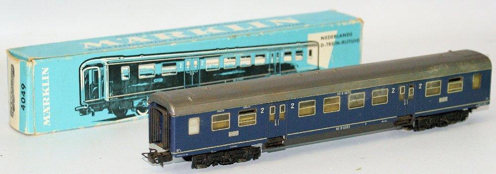 Vintage HO Scale #4049 MARKLIN Märklin 2nd Class