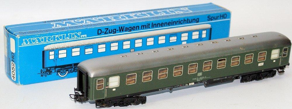 Vintage HO Scale #4052 MARKLIN Märklin DB Express 2nd
