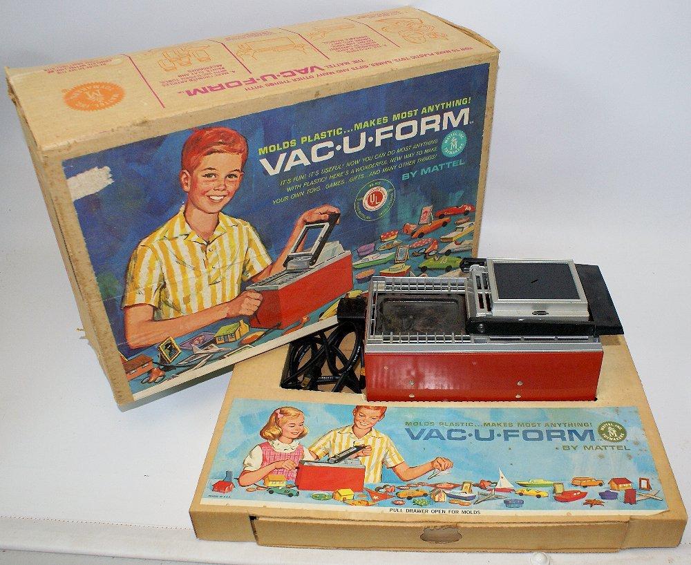 Vintage 1962 Mattel Vac-U-Form Vacuform #422 Plastic