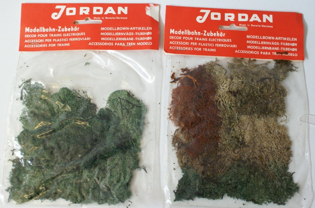 2 Packs Train Layout / Diorama Grass Moss Turf
