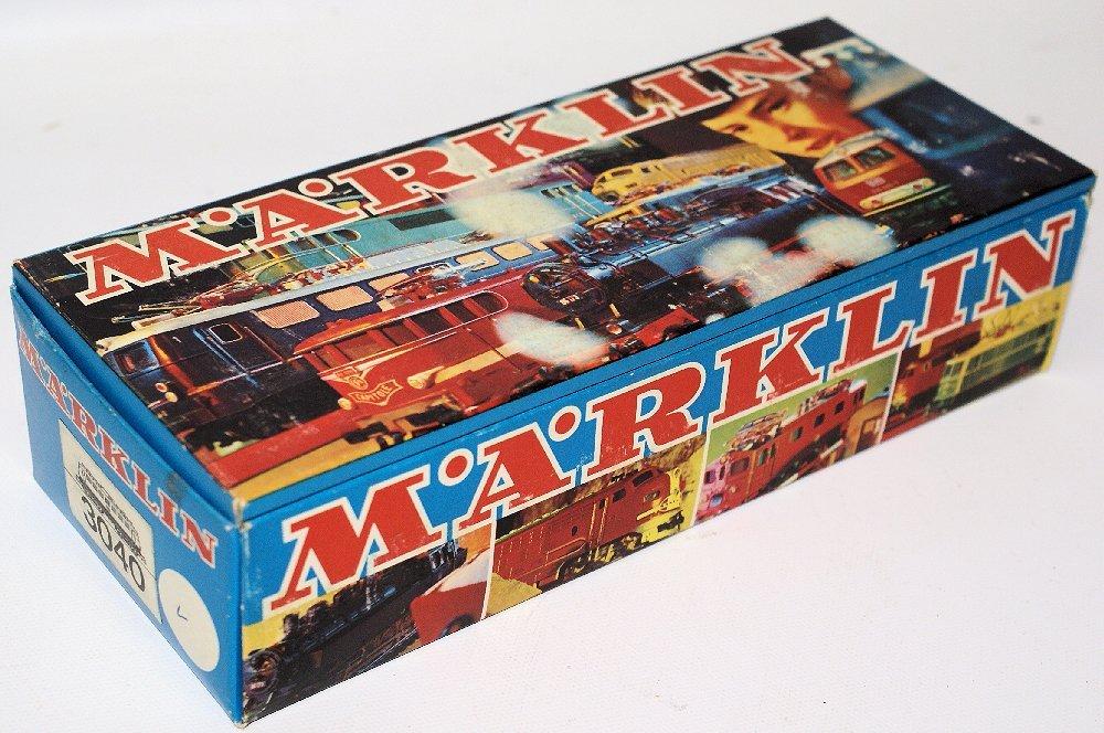 Vintage HO #3039 MARKLIN Märklin Blue 110 234-2 DB - 4