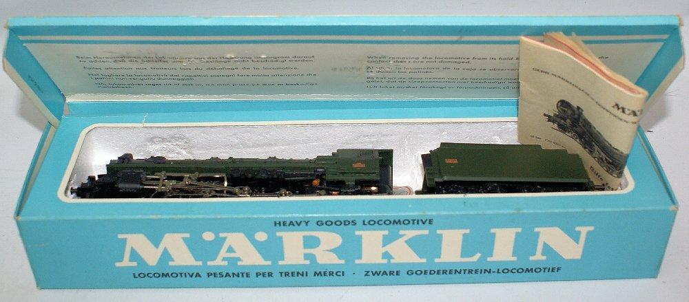 Vintage HO #3046 MARKLIN Märklin SNCF 2-10-0 Steam Loco - 2