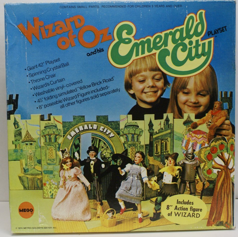 Vintage 1974 Wizard of Oz Emerald City Playset w/ Box &