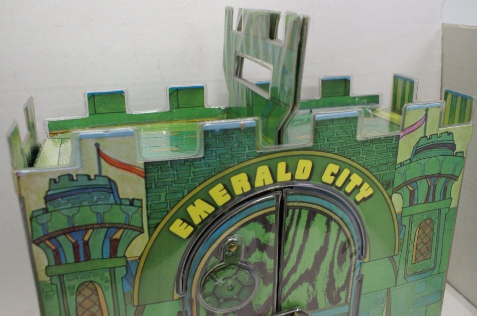 Vintage 1974 Wizard of Oz Emerald City Playset w/ Box & - 6