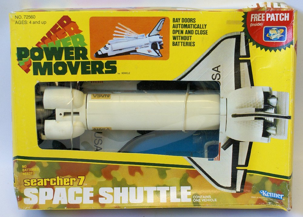 RARE Vintage 1983 KENNER Space Shuttle Ship 'Searcher7'